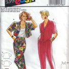 Misses' Blouse Pants Top Sewing Pattern Size 10-20 Burda 4798 UNCUT