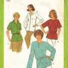 Vintage Sewing Pattern Misses' Tunics & Tie Belt Size 16 Simplicity 9045 UNCUT