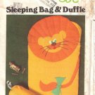 Vintage Sewing Pattern Children's Sleeping Bag & Duffle Bag Butterick 5161 UNCUT