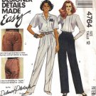 Misses' Pants Sewing Pattern Size 12 McCall's 4764 UNCUT