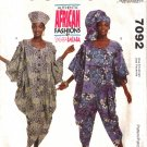 Misses' Dress & Jumpsuit Sewing Pattern Size 6-22 McCall's 7092 UNCUT