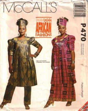 Misses' Tunic, Skirt & Pants Sewing Pattern Size S-L McCall's P470 UNCUT