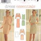 Misses' Jacket Dress Top Skirt Sewing Pattern Size 6-10 Simplicity 7115 UNCUT
