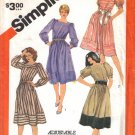 Misses' Dresses Sewing Pattern Size 8-12 Simplicity 5959 UNCUT
