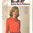 Vintage Sewing Pattern Misses' Pullover Cowl-Neck Dress Size 12-16 Simplicity 8188 UNCUT