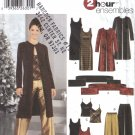 Misses' Pants, Jacket, Scarf, Camisole, Dress, Tunic Sewing Pattern Size 12-20 Simplicity 5746 UNCUT