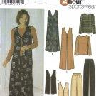 Misses' Top, Jumper, Vest, Pants Sewing Pattern Size 14-20 Simplicity 5919 UNCUT