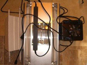 AQ19912 24� 250W Metal Halide + 2x24W T5 Aqua Medic Fixture w/ Ballast with 5 FREE bulbs 24 inch