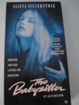 VHS Movie Tape The Babysitter With Alicia Silverstone