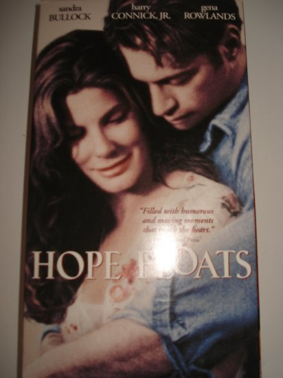 Hope Floats Vhs Tape Movie With Sandra Bullock Harry Connick Jr. Gena Rowlands