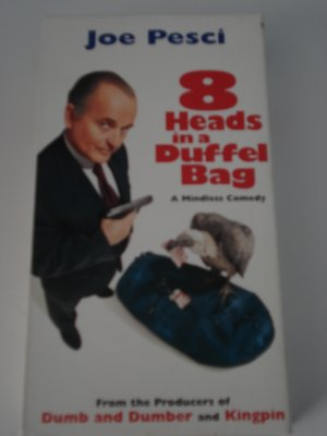 VHS Movies Tapes 8 Heads In A Duffel Bag Joe Pesci Comedy