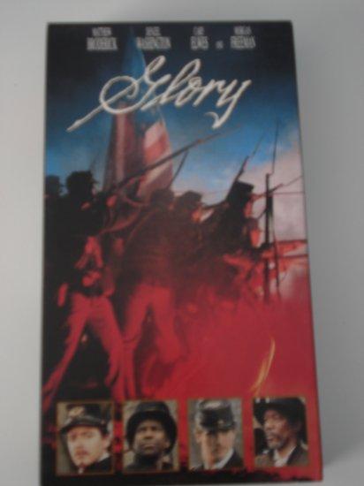 VHS Movies Tapes Glory War Movie Matthew Broderick Denzel Washington