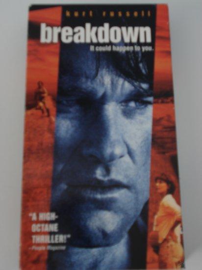 VHS Movies Tapes Breakdown Kurt Russell