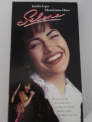 VHS Movies Tapes Selena Jennifer Lopez Edward James Olmos