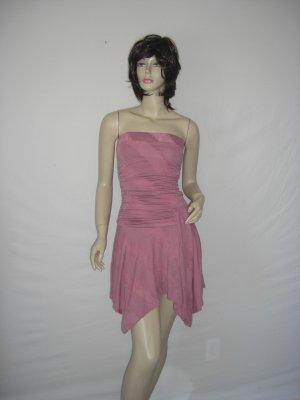 New Celeb Asymmetrical Stripe Tube Scarf alana Dress M Medium