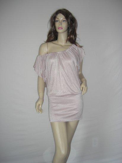 NEW Off the Shoulder Kimono Shimmer Mini Dress Top M
