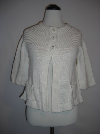 New Macys Knit Energie Shrug Shawl Sweater Top M $49