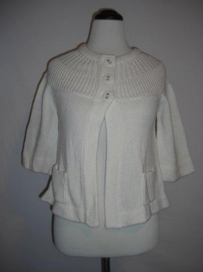 New Macys Knit Energie Shrug Shawl Sweater Top L $49