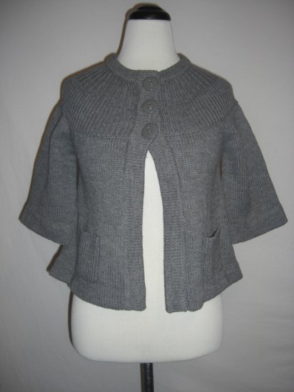 New Macys Knit Energie Shrug Shawl Sweater Top S $49