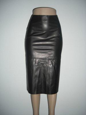 "NWT vlv Sexy Rockabilly Vegan ""Leather"" Pencil Skirt XS"