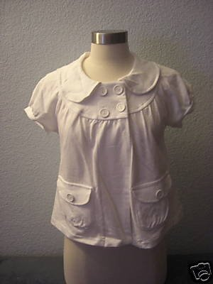 New Forever 21 Cotton Trapeze Fly away ss jacket top L