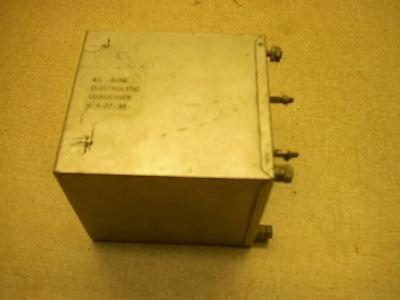 W.E. Electrolytic Capacitor  KS-8056  Condenser