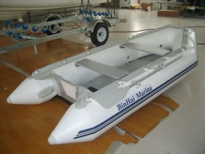 Tender boats BH-S330 with CE approval