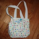 029. nwot roxy polka dot bag
