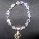 Swarovski Crystal Heart Dangle Bracelet