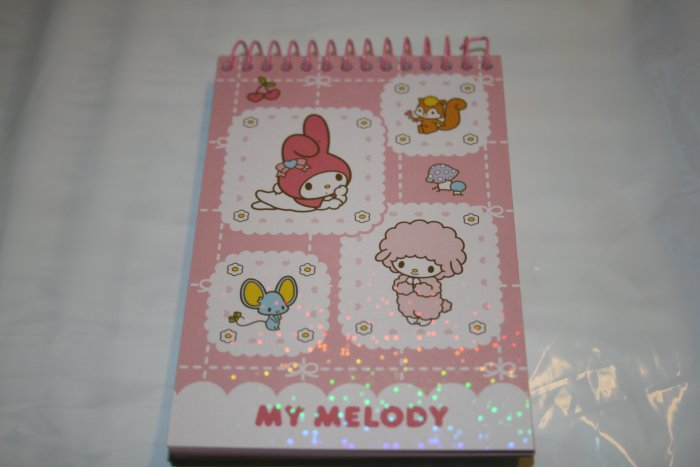 MY MELODY SANRIO 2006 SPIRAL MEMO NOTEPAD NEW