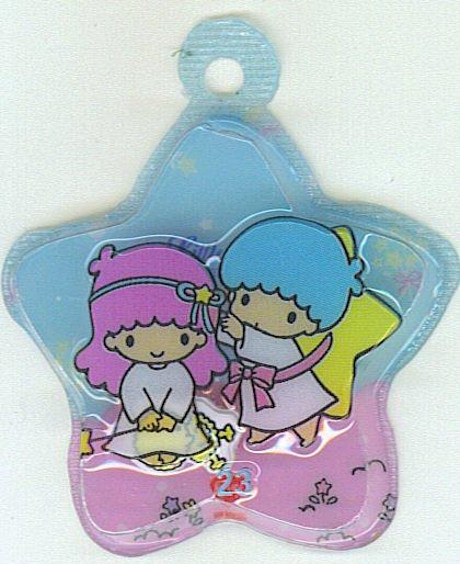 SANRIO LITTLE TWIN STARS 2 IN 1 BLUE STAR SHAPE #23