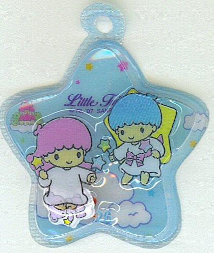 SANRIO LITTLE TWIN STARS 2 IN 1 FULL BLUE STAR SHAPE #26
