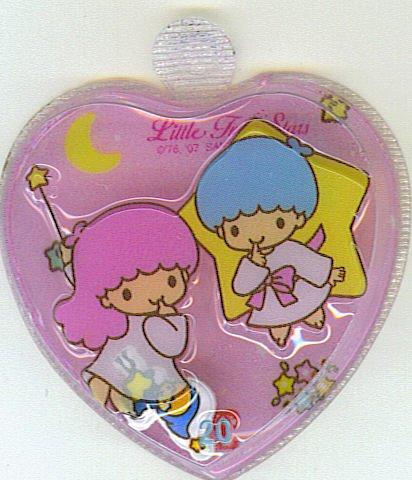 SANRIO LITTLE TWIN STARS 2 IN 1 FULL PINK HEART SHAPE #20
