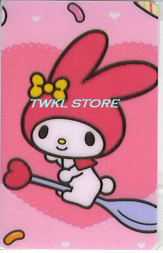 SANRIO MY MELODY STICKER CARD COLLECTION -FLYING-