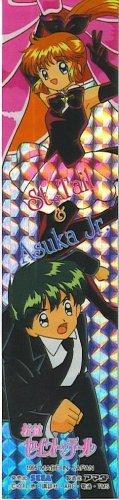 SAINT TAIL & ASUKA JR. JAPAN ANIME RARE PULL PACK PRISM LONG STICKER-1