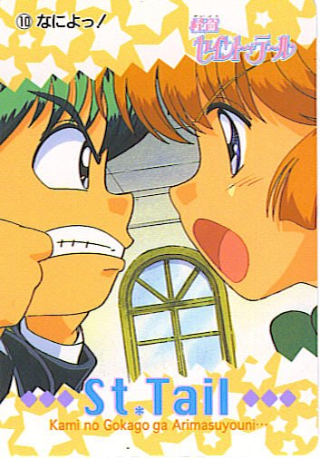 SAINT TAIL JAPAN SEGA 1996 ANIME CARD #10
