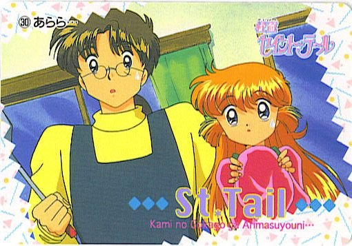 SAINT TAIL JAPAN SEGA 1996 ANIME CARD #30