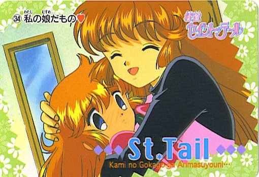 SAINT TAIL JAPAN SEGA 1996 ANIME CARD #34