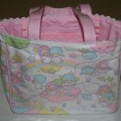 SANRIO LITTLE TWIN STARS HAND BAG / SMALL TOTE BAG