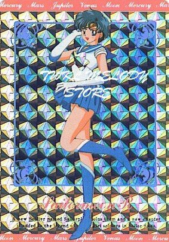 SAILOR MOON  HERO-2 SAILORMOON R  HARD PRISM CARD # LC 305