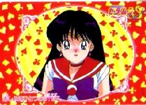 SAILORMOON SAILOR MOON S CARDDASS W PART 2 CARD #75 REI/MARS & AMY