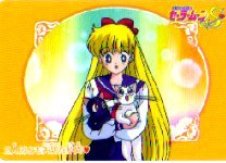SAILORMOON SAILOR MOON S CARDDASS W PART 2 CARD #77 MINAKO/VENUS