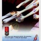 Let Go of Me! CARD #222  INUYASHA TCG TETSUSAIGA RARE PRISM FOIL CARD CARD GAME