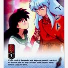 I'll Never Let You Go    CARD #199  INUYASHA TCG TETSUSAIGA  RARE PRISM FOIL CARD  GAME