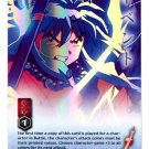 My Power is What it is  CARD #217  INUYASHA TCG TETSUSAIGA  RARE PRISM FOIL CARD GAME