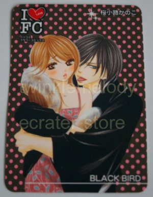I LOVE FC - PLASTIC CALENDAR PROMOTION CARD #3 BLACK BIRD? UNKNOWN SERIES