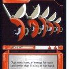 MEGAMAN GAME CARD MEGA MAN 3R64 CUTTING EDGE