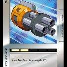 MEGAMAN GAME CARD MEGA MAN 1C19 Vulcan1