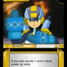MEGAMAN GAME CARD MEGA MAN 3U50 Quite Confident