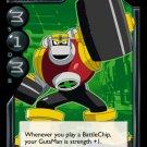 MEGAMAN GAME CARD MEGA MAN 1C2  GutsMan Body Strength